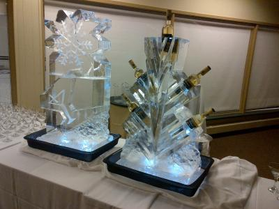 Ice Vodka Luge