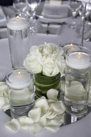 Mirrored Candle Centerpiece