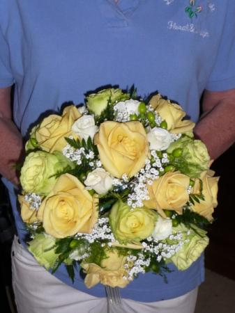 Round Rose Wedding Bouquet