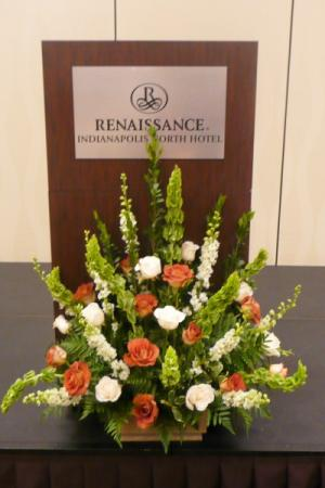 Corporate Event Centerpiece