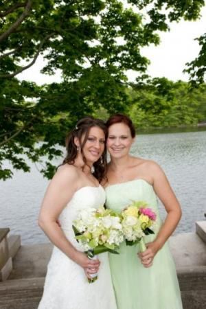 Beautiful Bride and Maid of Honor personal