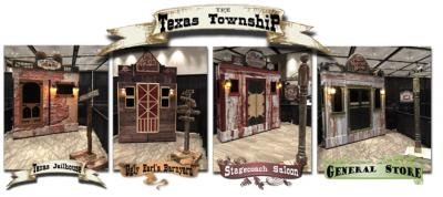 "the ""Texas Township"" - Old West Town Backdrops"