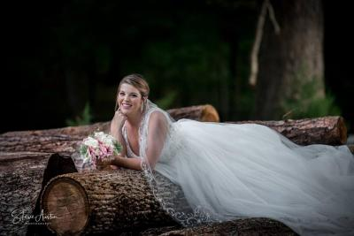 Erin Moses Bridals on the log.jpg