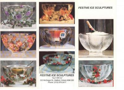 Decorative Ice Bowls