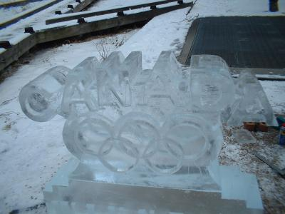 Oh Canada Ice Sculptures!