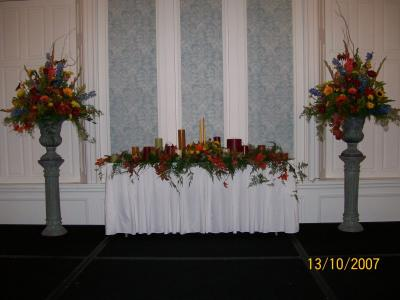 Beautiful Reception Table