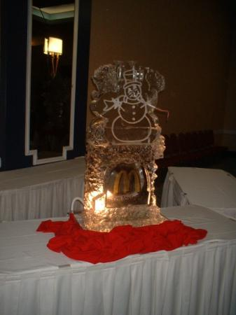 Loveable Ice Sculpture