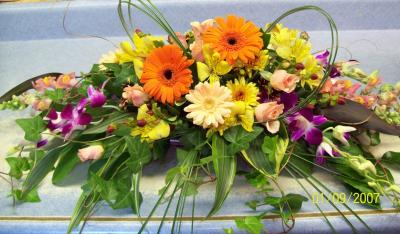 Bright And Cheerful Floral Centerpiece