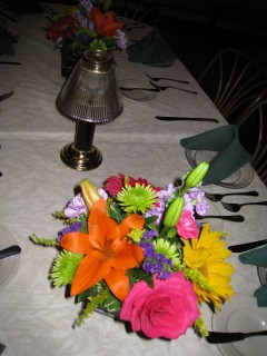 Colorful Table Centerpiece