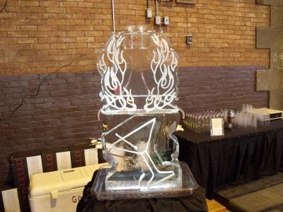 Flame Design Martini Luge