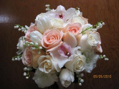 The Blushing Bridal Bouquet