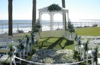 Beautiful Arbor on the Beach