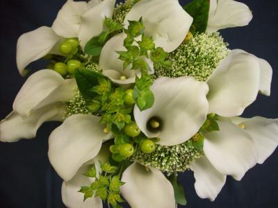 Gorgeous Calla Lily Wedding Bouquet