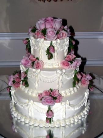 Cake For Cherry Blossom Wedding