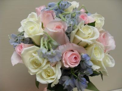 Bridal Bouquet In Soft Colors