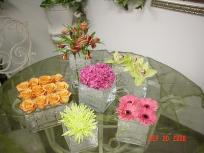 Custom Floral Vase Arrangements