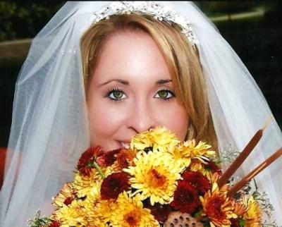 Beautiful Fall Bridal Portrait
