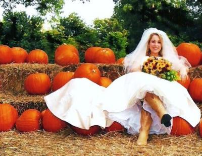Fall Bridal Portrait