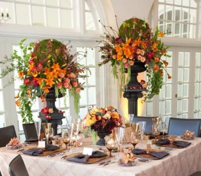 Tall Event Centerpieces