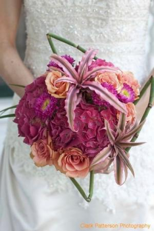 Some like it Hot Bridal Bouquet