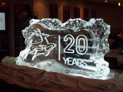 Company Ice Sculpture
