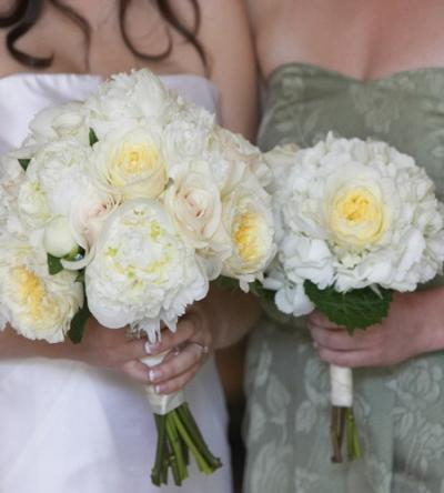 Bridal Bouquets of White