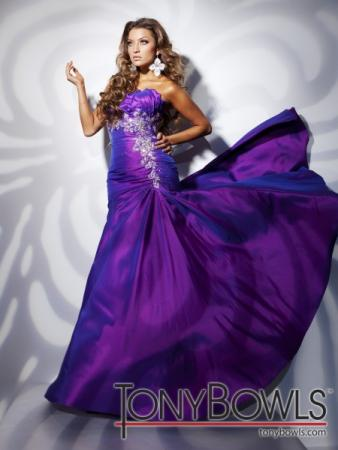 STYLE 112522 AVAILABLE IN GRAPE OR RED TAFFETA