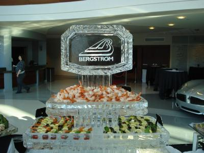 Seafood Station with Logo